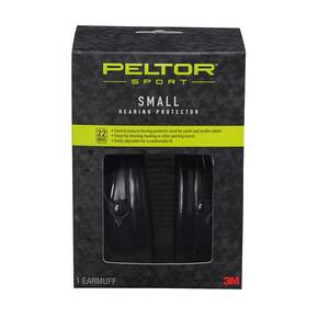 Peltor Sport Passive Ear Muffs, Small