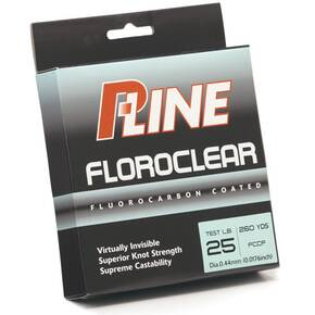 P-Line Floroclear Co-Polymer Fish Line 6 lb 300 yds - Clear