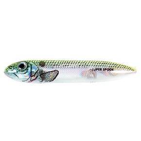 Heddon Super Spook Top Walker Hard Lure - Okie Shad