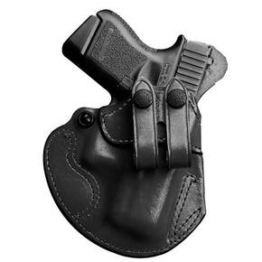 #028 COZY PARTNER PLN BLK LEATHER RH FOR SPRINGFIELD XDE 3.3""