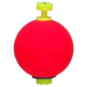 "Comal Tackle Snap-on Weighted Round Float 1"" 1pk - Red"