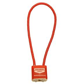Birchwood Casey Safelock Cable Lock - Red