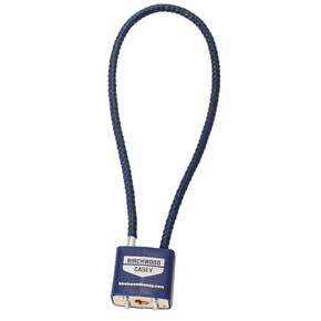 Birchwood Casey Safelock Cable Lock - Blue