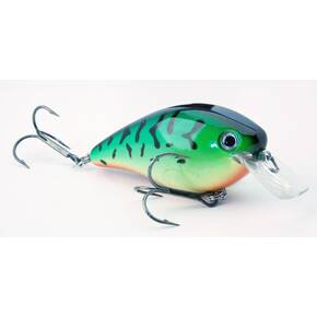 Strike King KVD Squarebill Crankbait Hard Lure 1.5 - Fire Tiger