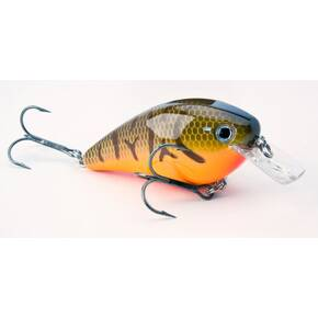 Strike King KVD Squarebill Crankbait Hard Lure 1.5 - Orange Belly Craw