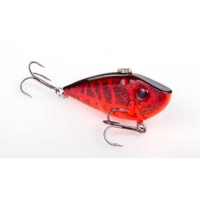 Strike King Red Eye Shad Tungsten 2-Tap Lipless Crankbait Lure 1/2 oz - Chili Craw
