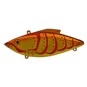 Rat-L-Trap Original (RT) Lipless Hard Crankbait Lure 1/2 oz - Goldfire Craw