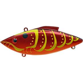 Rat-L-Trap Mini-Trap (MT) Lipless Hard Crankbait Lure 1/4 oz - Rayburn Red Craw