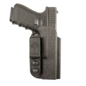 #137 SLIM-TUK IWB KYDEX HOLSTER FOR S&W M&P SHIELD 9/40 BLK AMBI