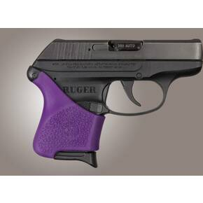 Hogue Handall Hybrid Grip Sleeve Purple for Ruger LCP