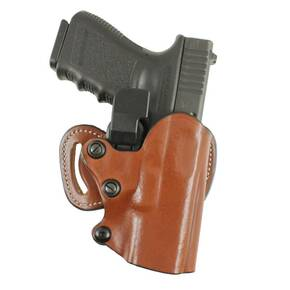 #144 QUICK-CHEK SCABBARD SELF-LOCK CONCEALMENT FOR GLOCK 17, 22, 31 BLK RH