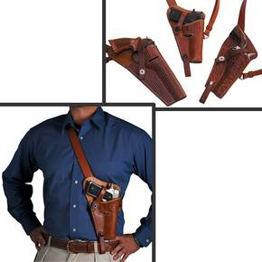 El Paso Saddlery 1942 Tanker Holster 1911  5 Right/Russet