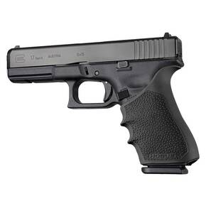 Hogue HandAll Beavertail Grip Sleeve Glock 17 Gen 1-2-5 Black