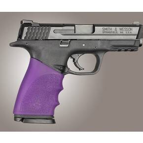 Hogue Handall Hybrid Grip Sleeve Purple for S&W M&P 9mm/40 Sig 357