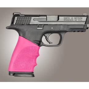 Hogue Handall Hybrid Grip Sleeve Pink for S&W M&P 9mm/40 Sig 357