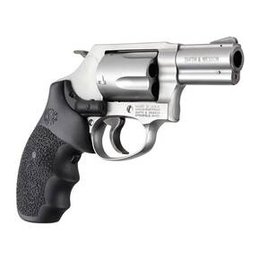 Hogue Laser Enhanced Grip - S&W J Frame Round Butt Rubber Monogrip