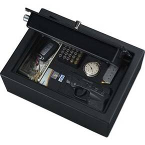 Stack-On Small Drawer Safe-Biometric Lock