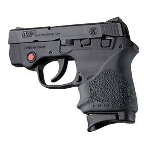 Hogue HandAll Beavertail Grip Sleeve for S&W Bodyguard 380/Taurus TCP & Spectrum-Black