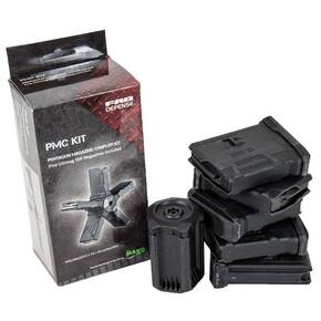 The Mako Group Pentagon Magazine Coupler Kit for M16/M4/AR15 5.56x45 Compatible - 5 Ultimags x 10/rd