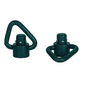 Grovtec Recessed Plunger Heavy Duty Angled Loop Push Button Swivels
