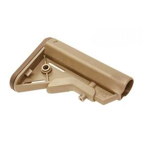B5 Systems BRAVO Stock Mil Spec Quick Detach Mount Coyote Brown BRV-1086
