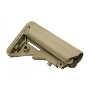B5 Systems SOPMOD Stock Mil Spec Quick Detach Mount Coyote Brown SOP-1076