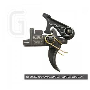 Geissele Automatics Hi-Speed National Match Rifle Trigger 05-127