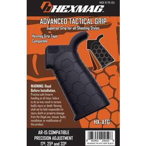 Hexmag Advanced Tactical Grip  Fits AR-15  Black HX-ATG-BLK