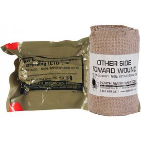 "North American Rescue Emergency Trauma Dressing 4"" 30-0031"