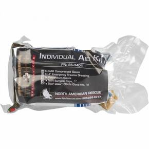 North American Rescue Individual Aid Kit Medical Kit 85-0404