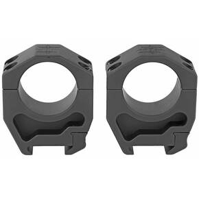 "Seekins 2-Piece Rifle Scope Rings 30mm 1.42"" AR High 4 Cap Screw"