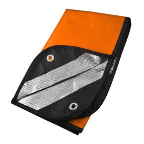 UST Survival Blanket 2.0 - Orange/Silver Reflect