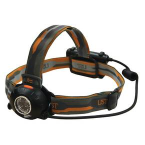 UST Enspire LED Headlamp - High/Medium/Low/SOS Flash/Off Modes Black