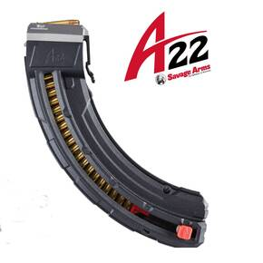 Butler Creek Savage Arms A22 Magnum Magazine .22 Mag Black Steel 25/rd