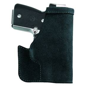 Galco Pocket Protector Holster for Ruger LCP w/ CTC Laserguard in Black Ambidextrous