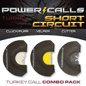 Higdon Outdoors Power Calls Short Circuit Combo Pack - (Cluck/Purr, Yelper, Cutter)