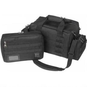 Bulldog X-Large MOLLE Tactical Range Bag - Black