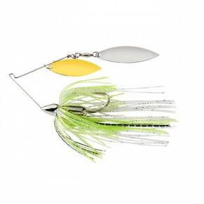 War Eagle Screamin Eagle Nickel Frame Double Willow Spinnerbait 1/2 oz - Spot Remover
