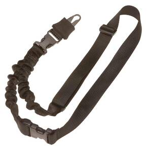TacShield Shock Sling Single Point w/Double ERB BLK 1 1/4in