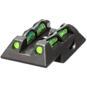 HiViz Rear Sight for Ruger LC9 LC9S LC380 Pistols - Green/Red/Black LitePipes