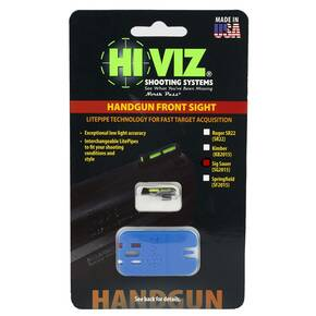 HiViz LiteWave Front Sight For Sig Sauer P-Series Pistol - Green/Red/White LitePipes and Key