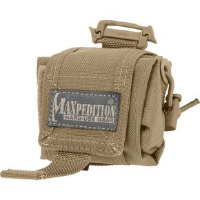 Maxpedition Mini Rollypoly Folding Dump Pouch - Khaki