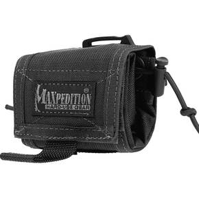 Maxpedition Mega Rollypoly Folding Dump Pouch - Black
