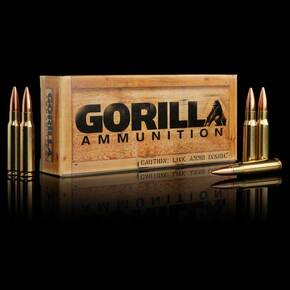 Gorilla Match Rifle Ammunition .308 Win 165 gr HPBT 2700 fps 20/ct