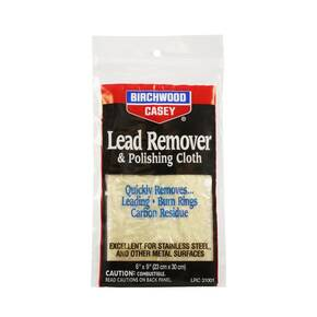 Birchwood Casey Lead Remover & Polish Cloth