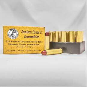 Jamison Handgun Ammunition .327 Fed 78 gr RN 1350 fps 20/ct