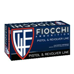 Fiocchi Pistol Shooting Dynamics Handgun Ammunition .45 ACP 230 gr FMJ 860 fps 50/box