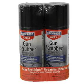 Birchwood Casey Gun Scrubber Firearm Cleaner- 10oz Aerosol 2-pack