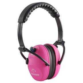 Walker's Alpha Power Muffs in Electric Pink Graphite