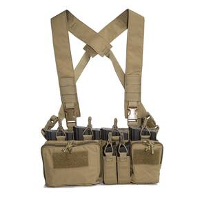 Haley Disruptive Environments 762 Heavy Chest Rig D3CR Coyote X Harness